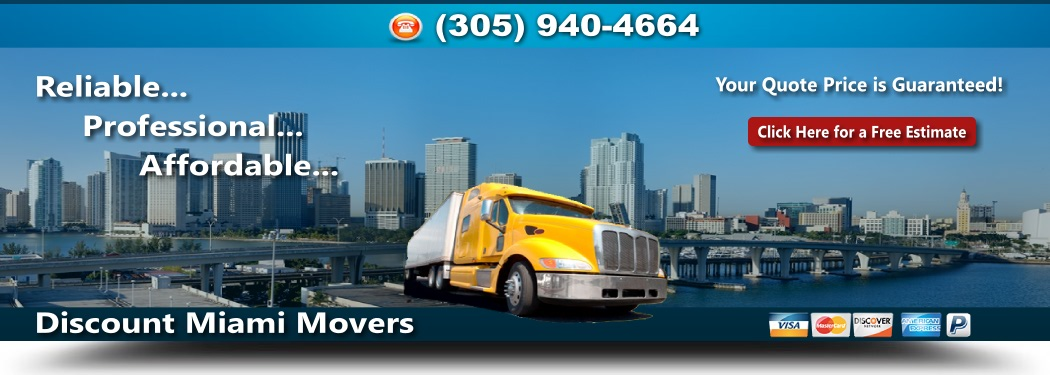 Discount Miami Movers
